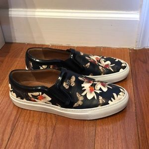 Givenchy Floral Slip-On Sneaker